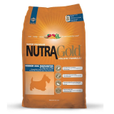 NUTRA Gold Indoor Adult Dog MicroBite 3 kg