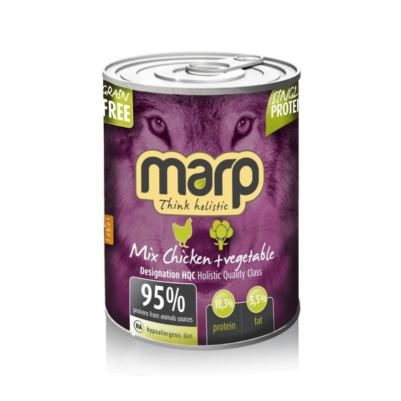 Marp Mix Chicken+Vegetable 6x400g