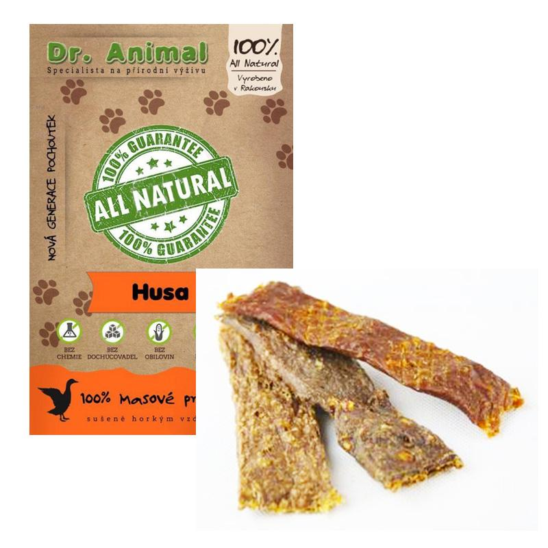 Dr. Animal - husa proužky 80g