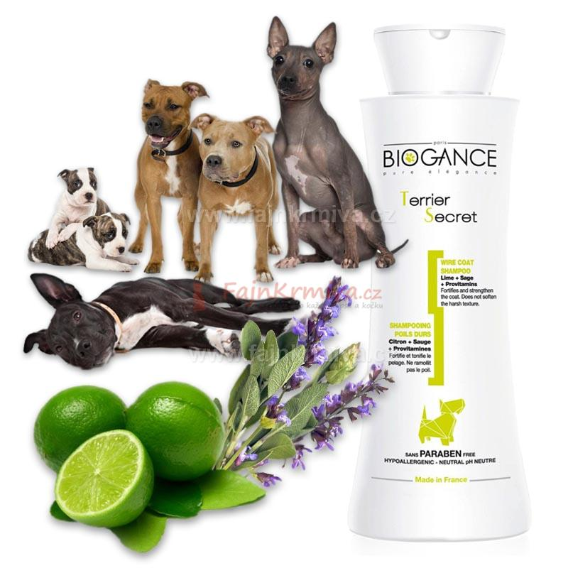 Biogance šampón Terrier secret 250 ml