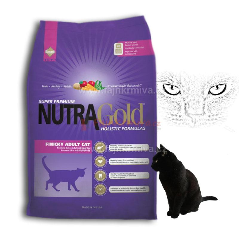 Nutra Gold Finicky Adult Cat 7,5 kg
