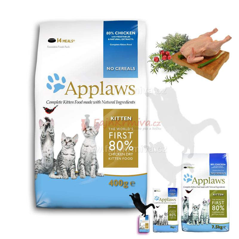 Applaws Kitten Chicken 400 g