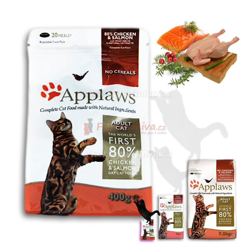 Applaws Adult Cat Chicken & Salmon 400 g