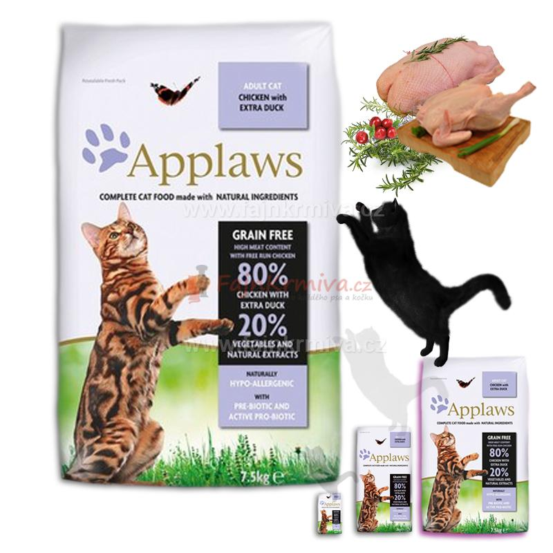 Applaws Adult Cat Chicken & Duck 7,5 kg