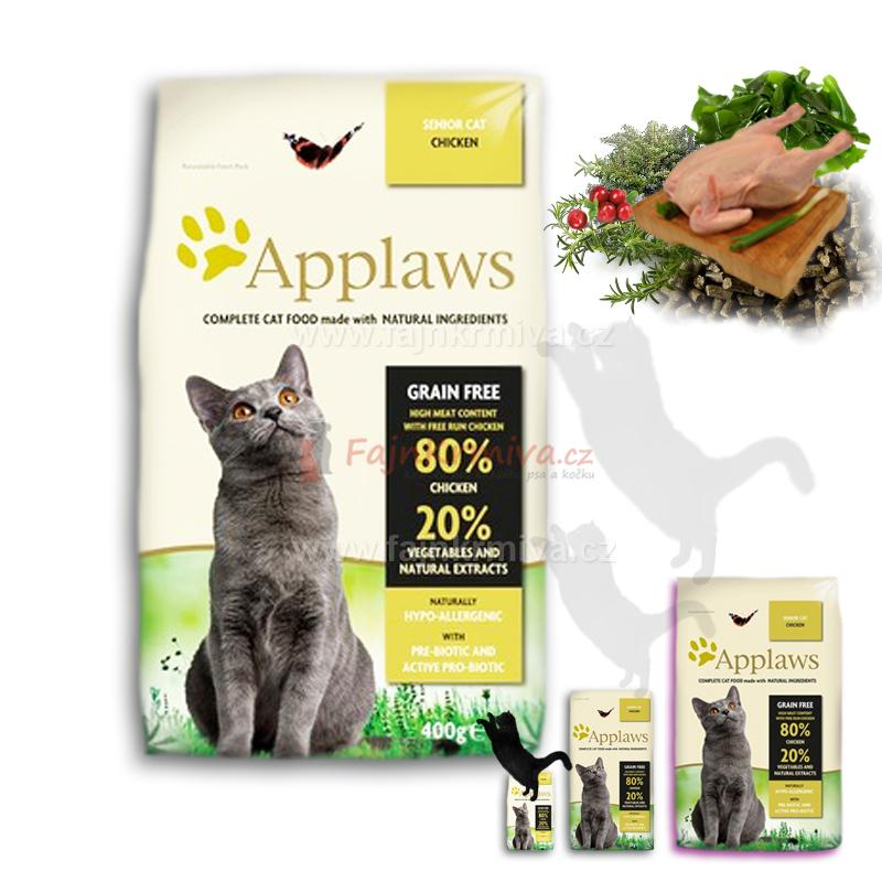 Applaws SENIOR Cat Chicken 400 g