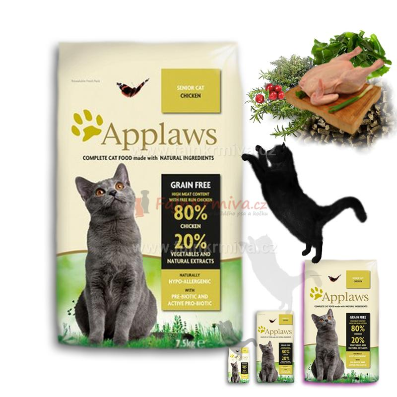 Applaws SENIOR Cat Chicken 7,5 kg
