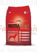 NUTRA Gold Holistic Adult Lamb & Rice 3 kg