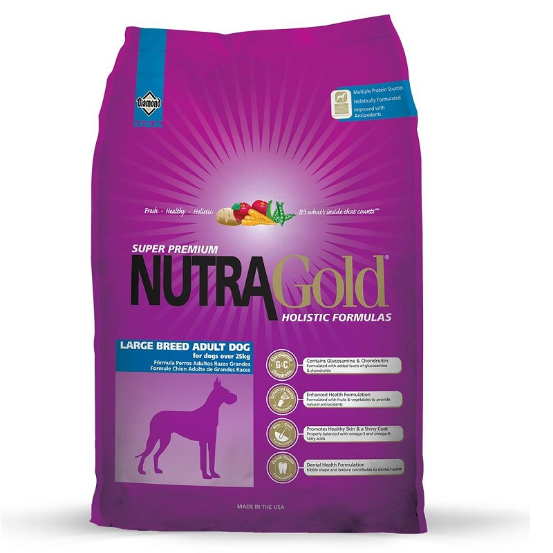 NUTRA Gold Holistic Adult Large Breed 15 kg