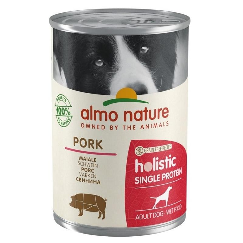 Almo Nature - 100% single protein - Vepřová 400g