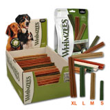 WHIMZEES Display Box Sticks Sticks XL - 24 cm/120 g