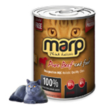 MARP Pure Beef CAT Can Food multipack 400 g