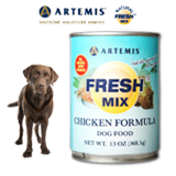 ARTEMIS Fresh Mix Chicken Dogs konzerva 370 g
