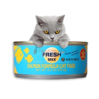 Artemis Fresh Mix Salmon Cats 5 + 1 ZDARMA