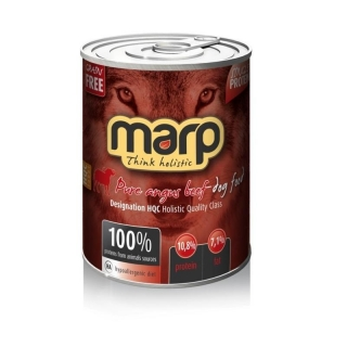 MARP Pure Angus Beef Dog Can Food 6x400g