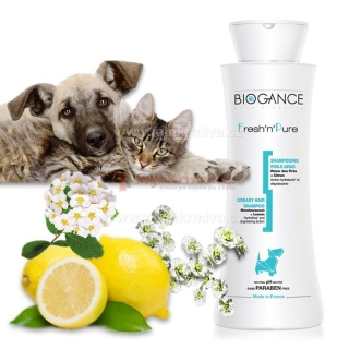 Biogance šampón Fresh'n'Pure 250 ml