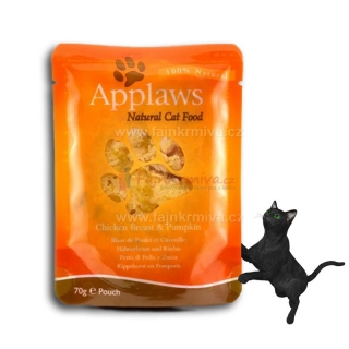 Applaws Cat kapsička kuřecí prsa a dýně 70 g