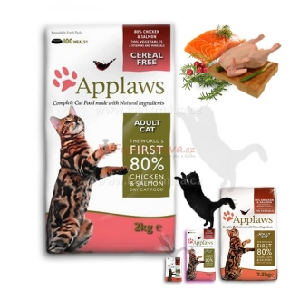 Applaws Adult Cat Chicken & Salmon 2 kg