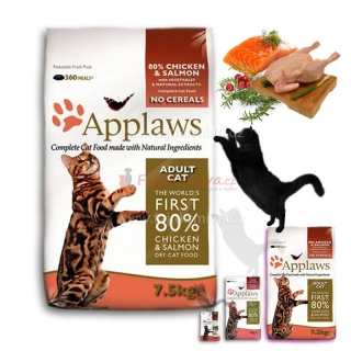 Applaws Adult Cat Chicken & Salmon 7,5 kg