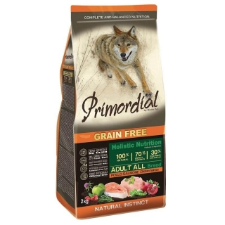 PRIMORDIAL Adult Chicken & Salmon 2 kg